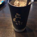 珈琲らんぷ 浜松原島店アイス珈琲