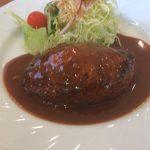 原島町にあるハンバーグレストランGOODで日替わりランチ(フレッシュハンバーグ)を食べてきた