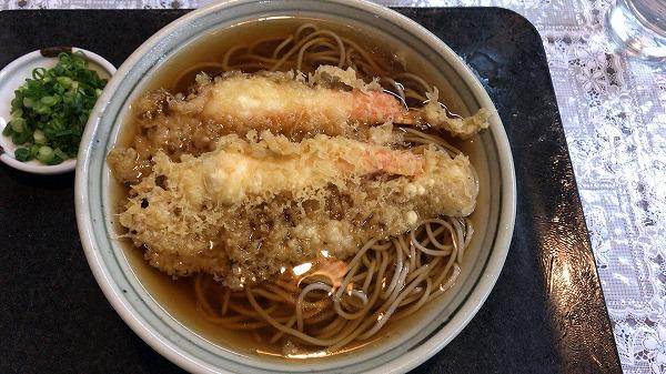 かやのき天ぷらそば