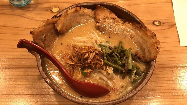 麺場田所商店 浜松インター店 信州味噌炙りチャーシュー麺